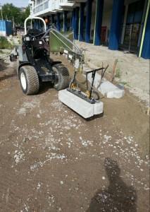 Knikmops 130 met vacuum unit